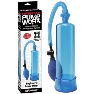 Developpeur Pump Worx Beginner's Power Pump bleu