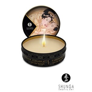 Mini bougie de massage Lueur et Caresse SHUNGA Vanille