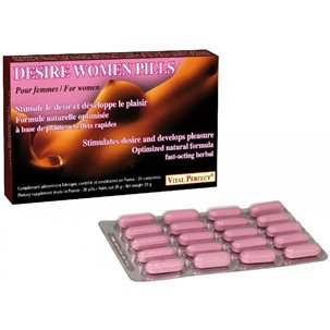 Desire women pills 20 comprimés Vital Perfect