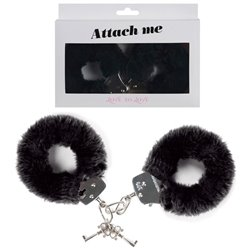 Menottes Attach Me noir Love to love