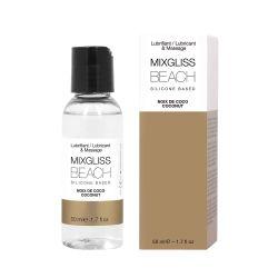 Beach Noix de Coco 50 ml Lubrifiant 2 en 1 Silicone Mixgliss