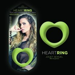 Anneau Heart Ring Phosphorescent en silicone Clara Morgane