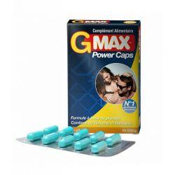 Gmax power caps - 10 gélules