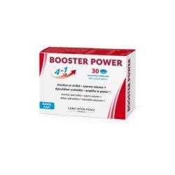 Booster Power sexuel 4 en 1 pour hommes 30 comprimés Labo Intex-Tonic