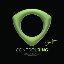 Anneau Control Ring Phosphorescent en silicone Clara Morgane