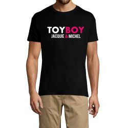 T-shirt Jacquie et Michel Toy Boy - noir