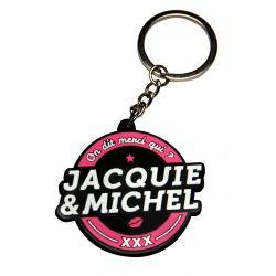 Porte-clés J&M logo rond Jacquie et Michel
