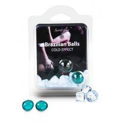 Boules Bresiliennes Effet Glacé X2